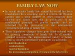 family law now
