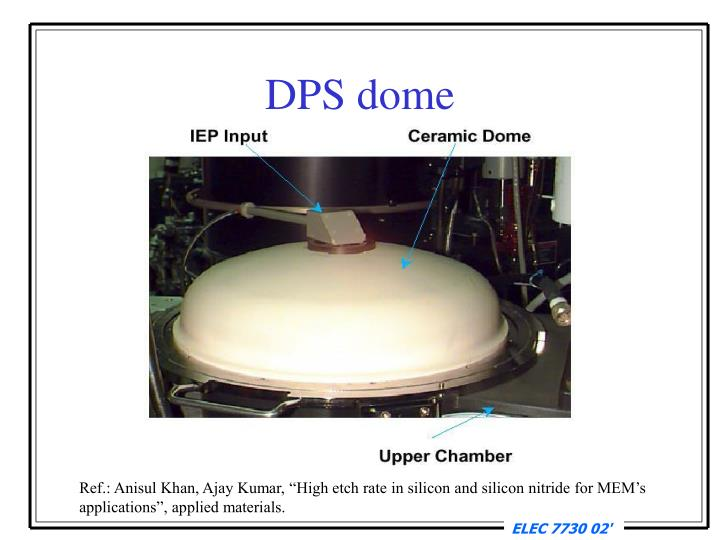 DPS dome