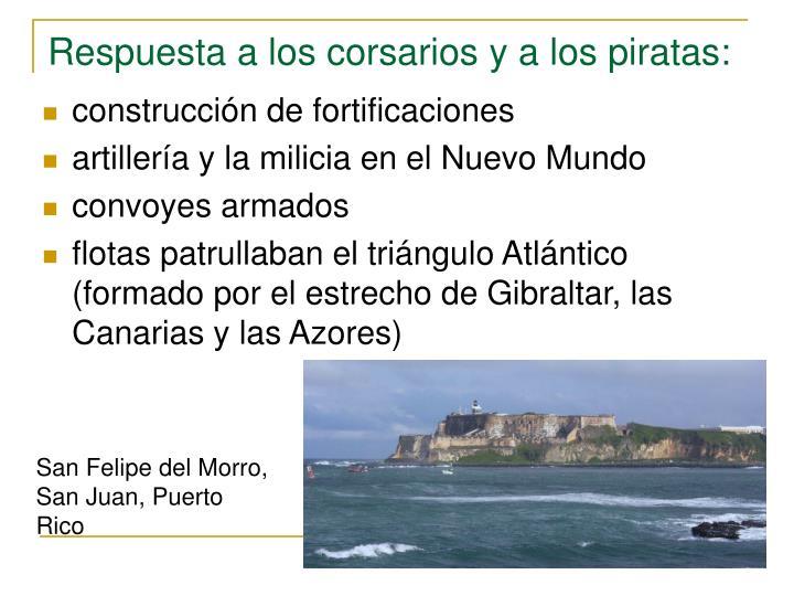 Respuesta a los corsarios y a los piratas: