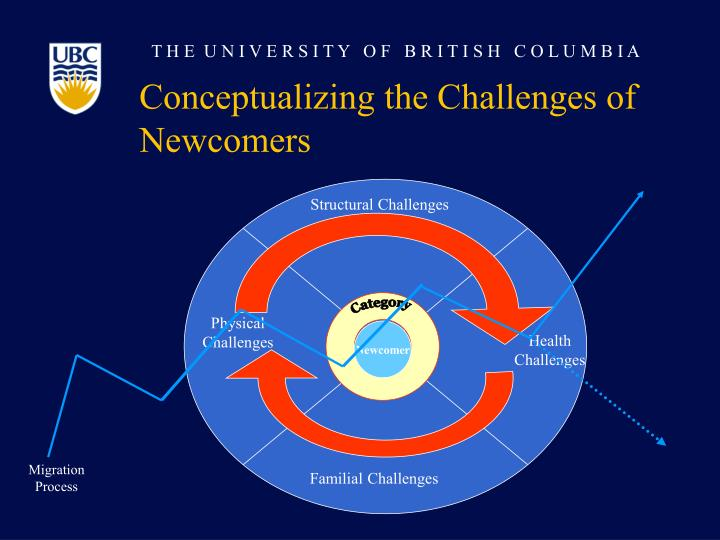 Conceptualizing the Challenges of Newcomers