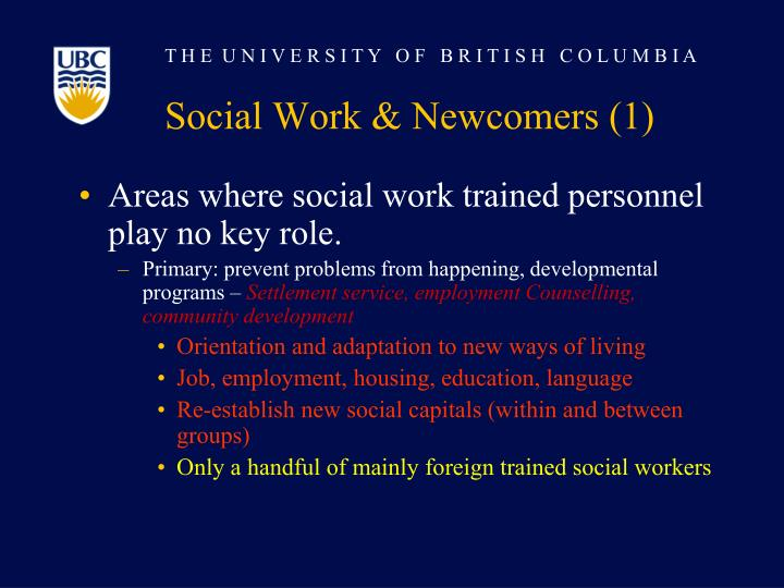 Social Work & Newcomers (1)