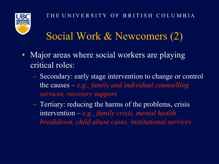 Social Work & Newcomers (2)
