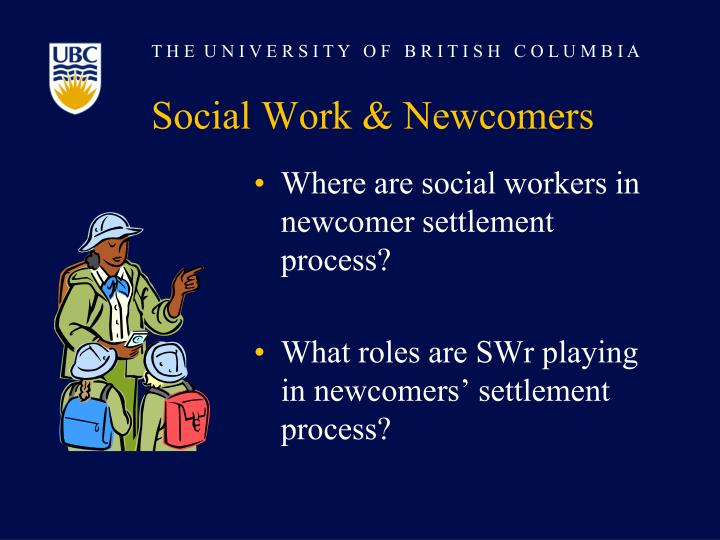 Social Work & Newcomers