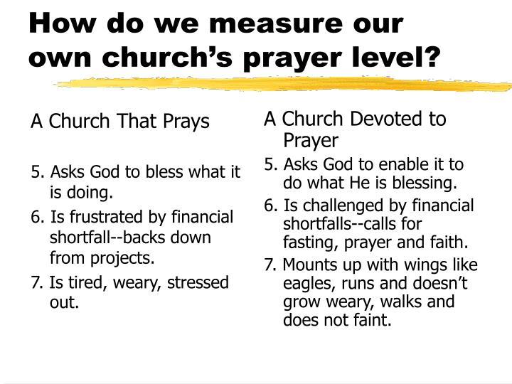 A Church That Prays