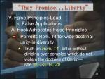 they promise liberty29