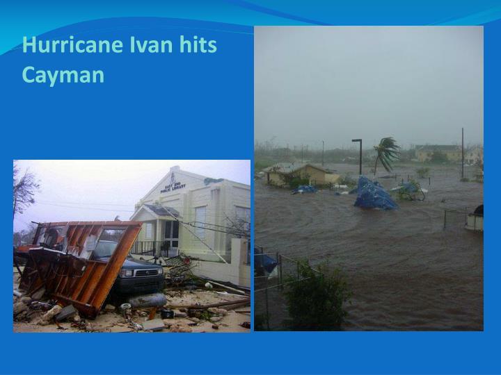 Hurricane Ivan hits Cayman