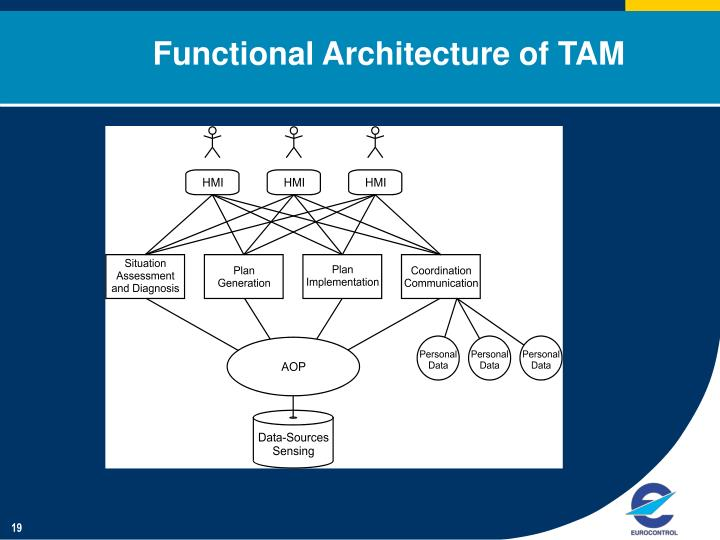 Functional Architecture of TAM