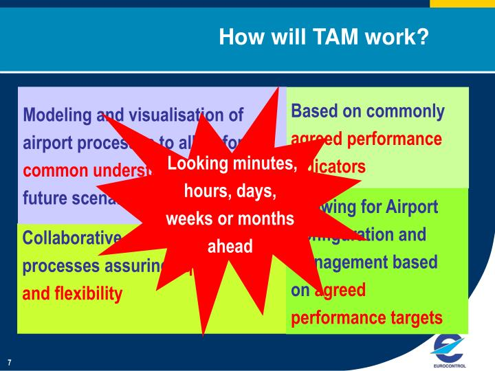 How will TAM work?