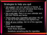 strategies to help you quit