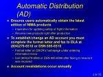 automatic distribution ad