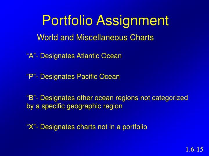 Portfolio Assignment
