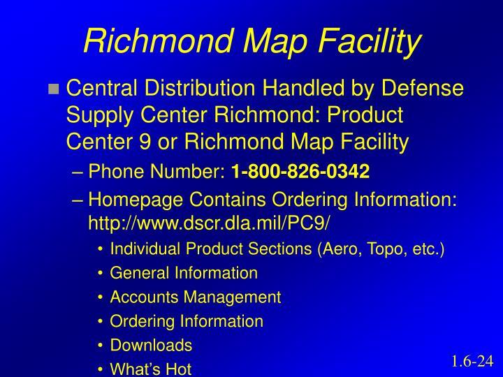 Richmond Map Facility