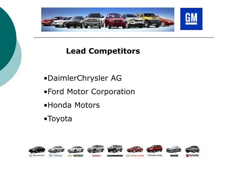 Lead Competitors