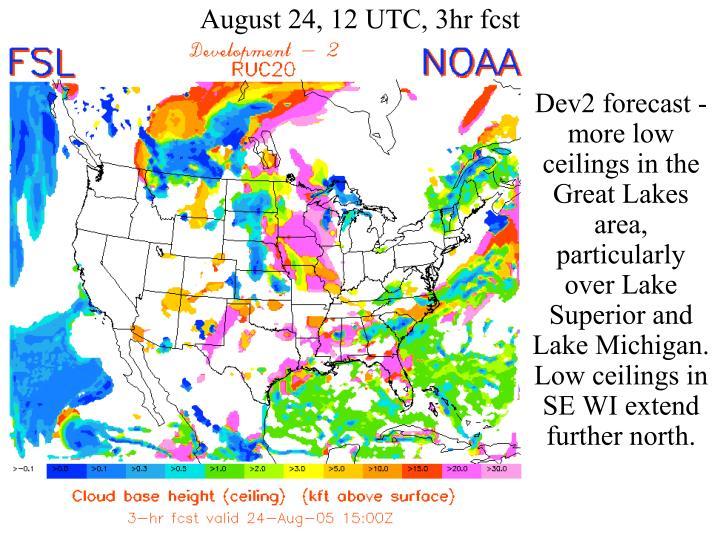 August 24, 12 UTC, 3hr fcst
