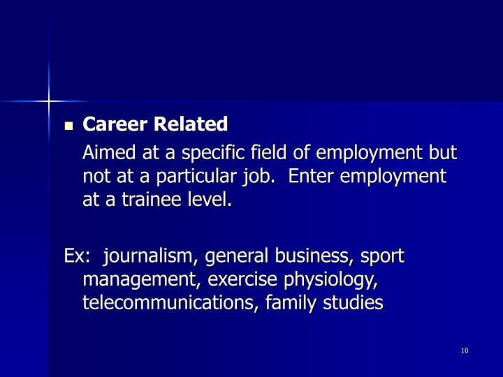 Career Related