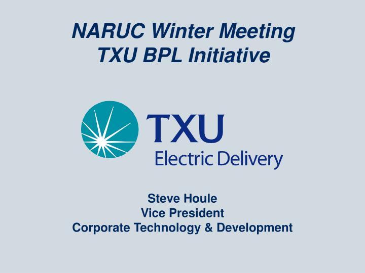 NARUC Winter Meeting