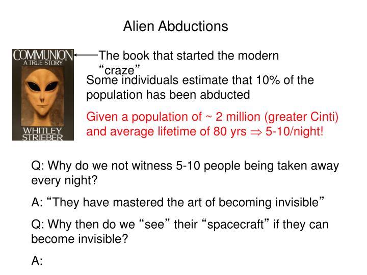 Alien Abductions