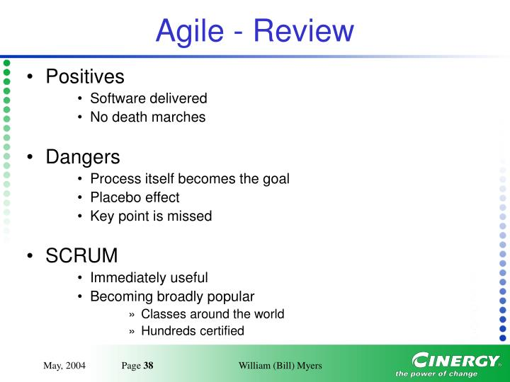 Agile - Review