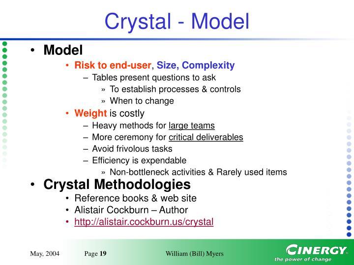 Crystal - Model