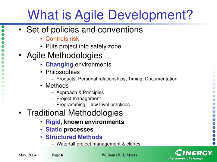 What is Agile Development?