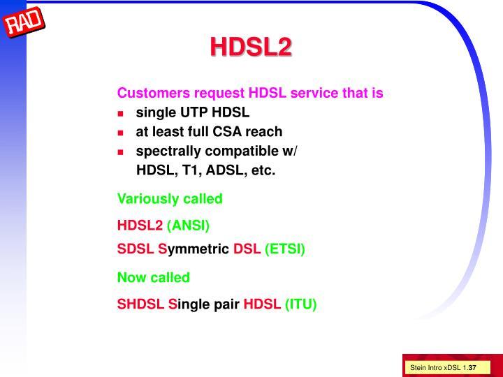 HDSL2