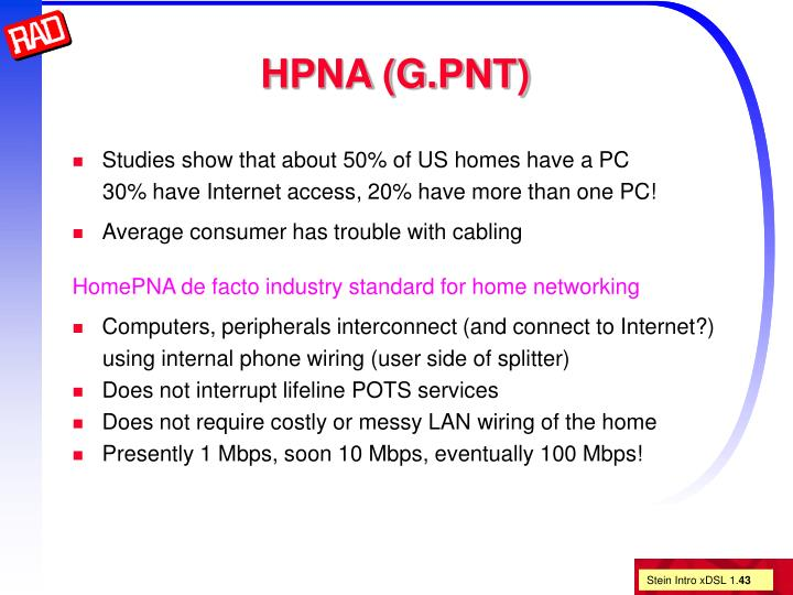 HPNA (G.PNT)