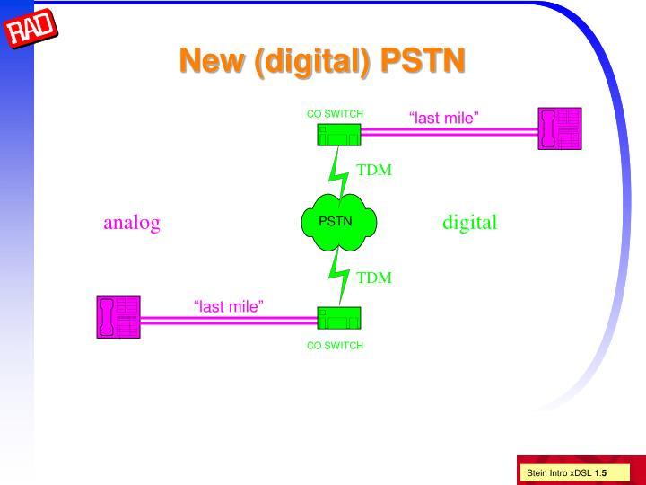 New (digital) PSTN