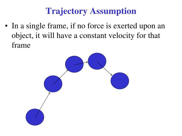 Trajectory Assumption