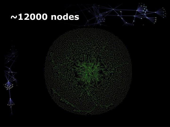 ~12000 nodes