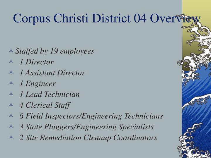 Corpus Christi District 04 Overview