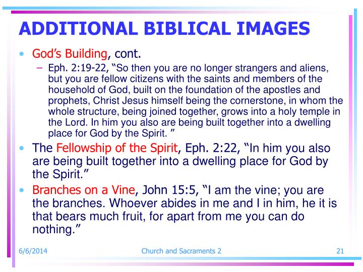 ADDITIONAL BIBLICAL IMAGES