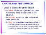 christ and the church1