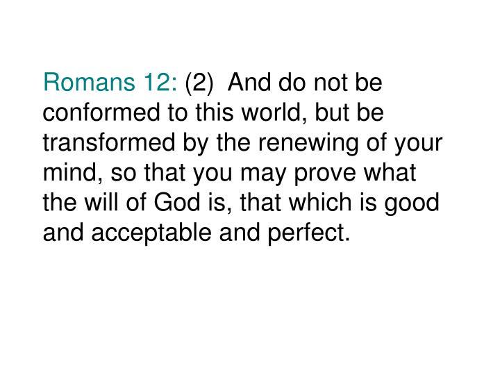 Romans 12: