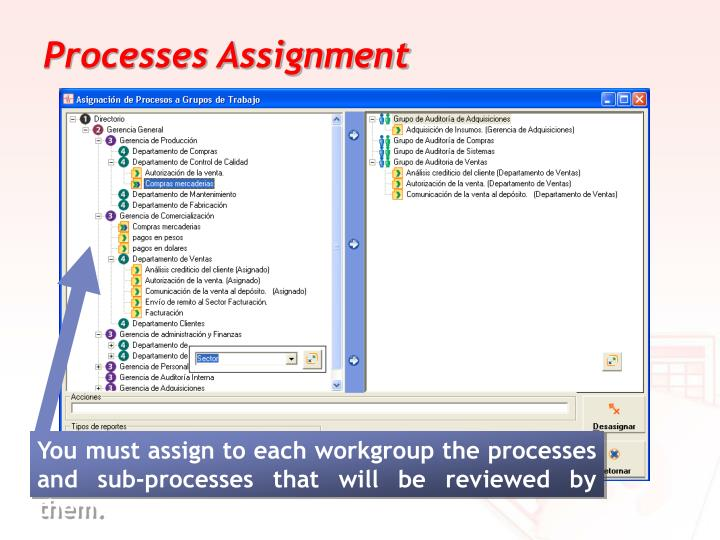 Processes Assignment