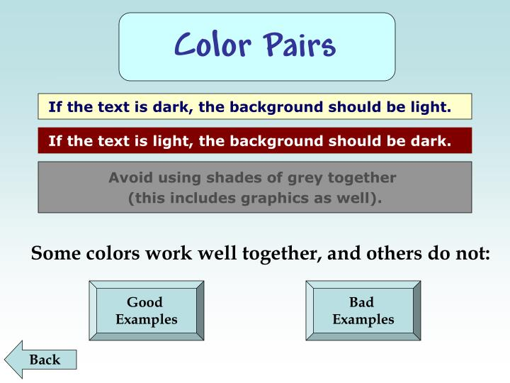 Color Pairs
