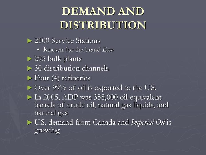DEMAND AND