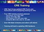 cre training