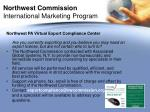 northwest commission international marketing program13