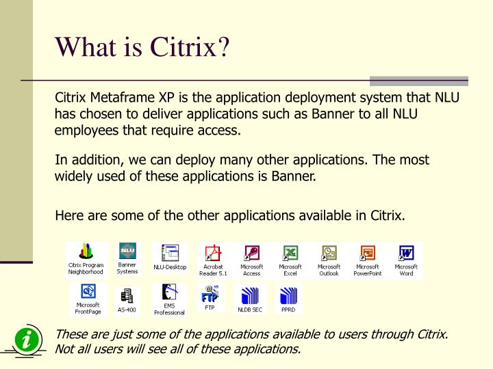 What is citrix