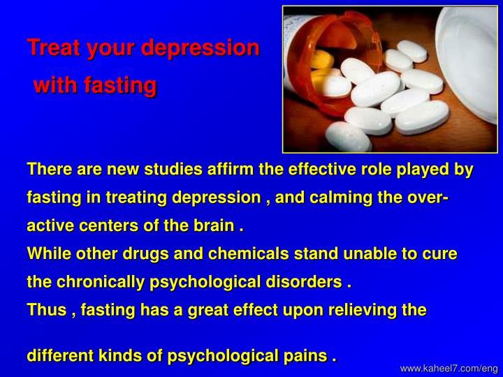 Treat your depression