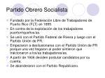 partido obrero socialista