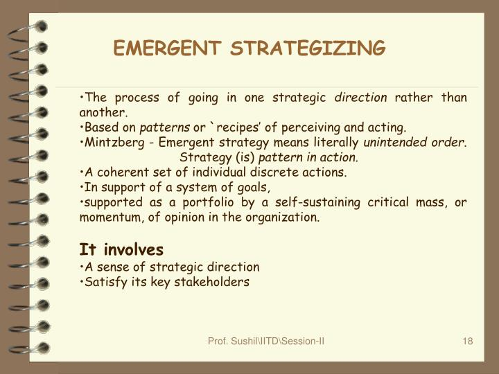 EMERGENT STRATEGIZING