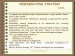 regenerating strategy contd1