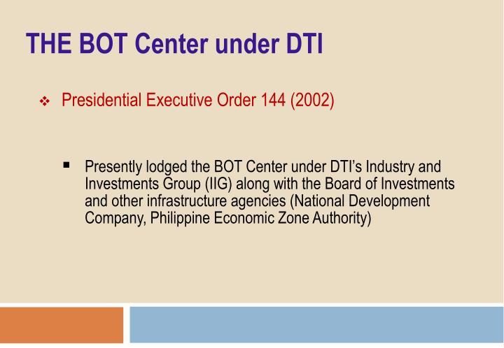 Presidential Executive Order 144 (2002)