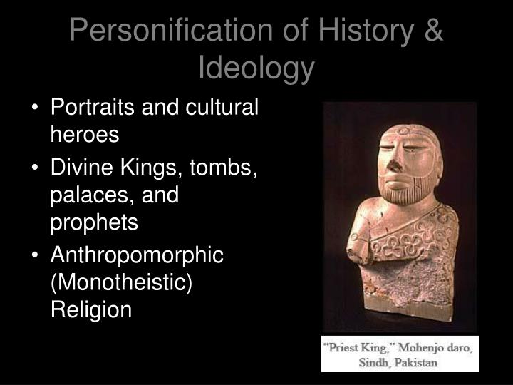 Personification of History & Ideology