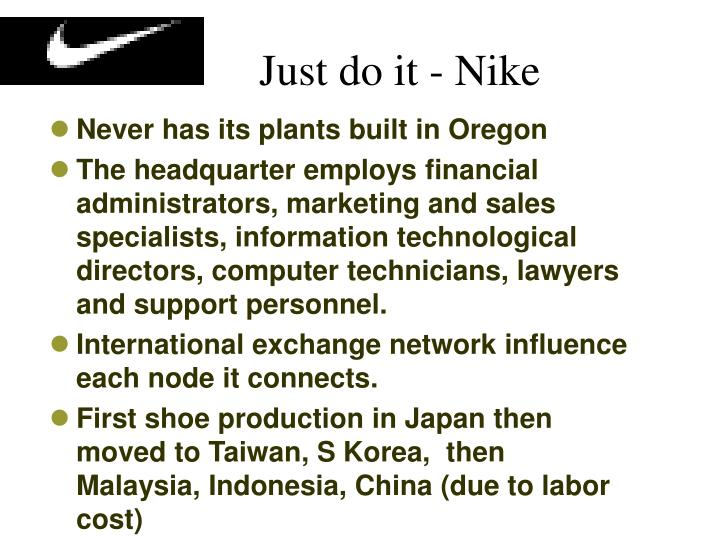 Just do it - Nike