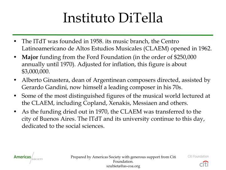 Instituto DiTella
