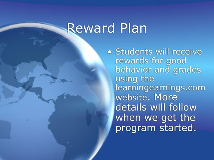Reward Plan