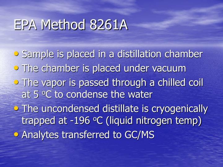 EPA Method 8261A