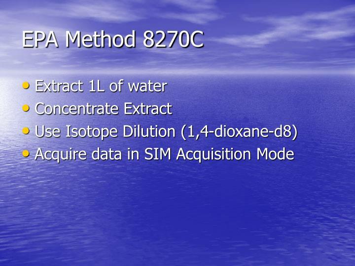 EPA Method 8270C